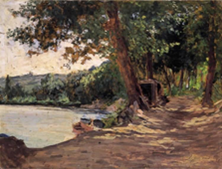 ERNESTO RAYPER (GENOVA 1840 - GAMERAGNA 1873)