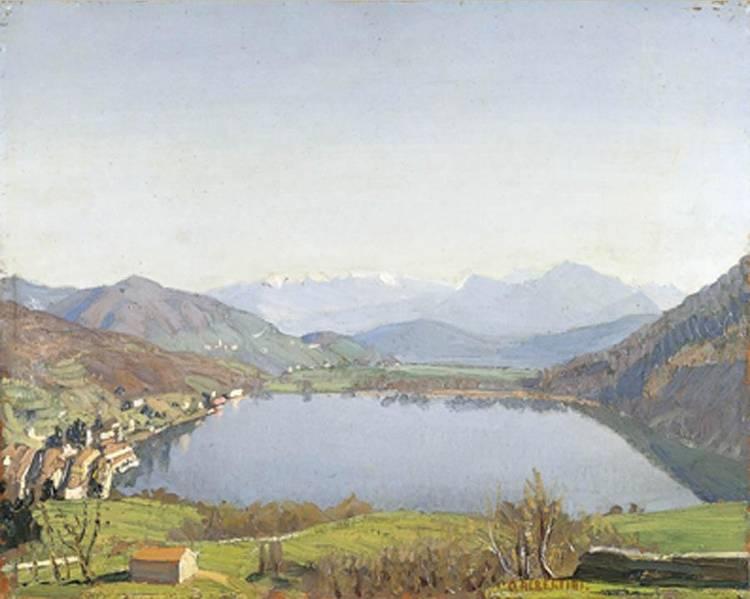 ORESTE ALBERTINI (TORRE DEL MANGANO 1887 - BESANO 1953)