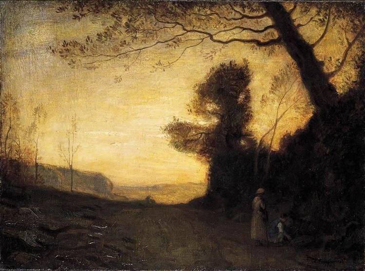 ANTONIO FONTANESI (REGGIO EMILIA 1818 - TORINO 1882)