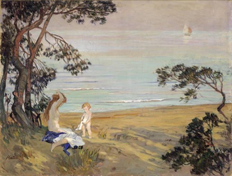 FERRUCCIO SCATTOLA (VENEZIA 1873 - ROMA 1950)