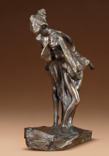 BERNHARD HOETGER,1874-1949 PETITES NYMPHES (ALLEMAGNE)