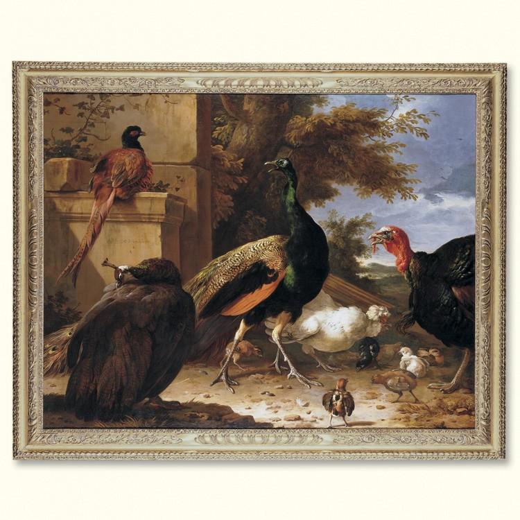 MELCHIOR D'HONDECOETER UTRECHT 1636 - 1695 AMSTERDAM
