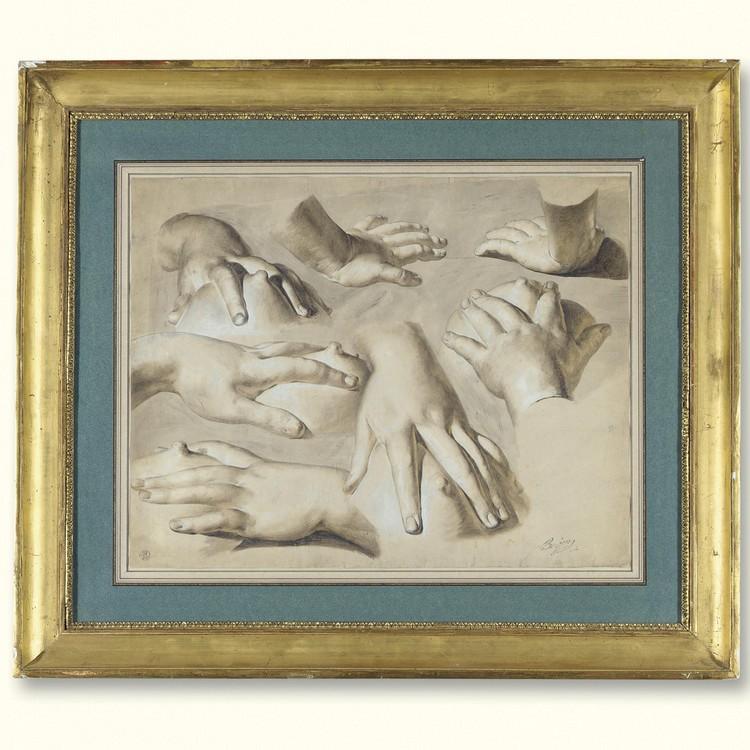 ANTOINE BERJON ST. PIERRE DE VAISE, LYON 1754 - 1843 LYON