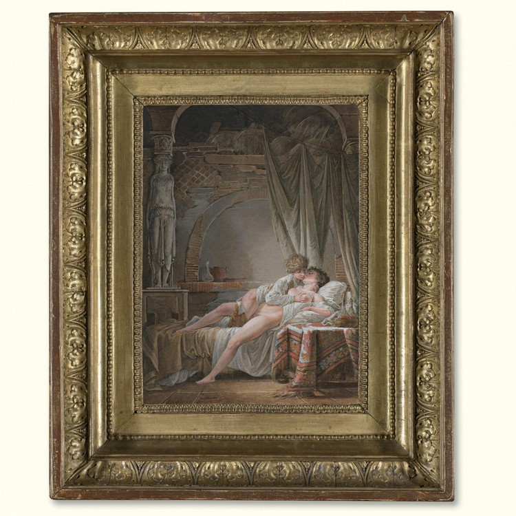 JEAN-BAPTISTE MALLET GRASSE 1759 - 1835 PARIS