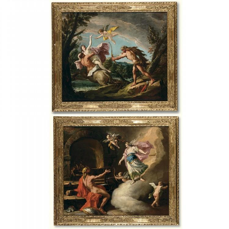 GASPARE DIZIANI BELLUNO 1689 - 1767 VENICE