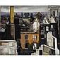 David Carr, 1915-1968 , over queen victoria street, london, David (1915) Carr, Click for value