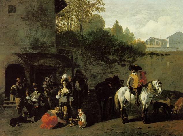 JOB ADRIAENSZ. BERCKHEYDE HAARLEM 1630-1693