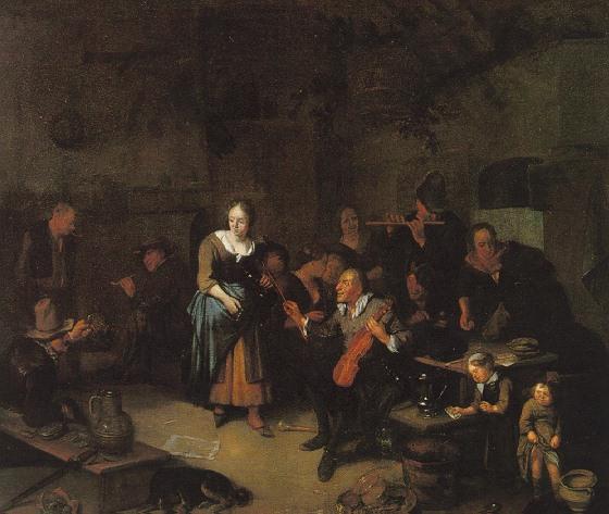 RICHARD BRAKENBURGH HAARLEM 1650 - 1702