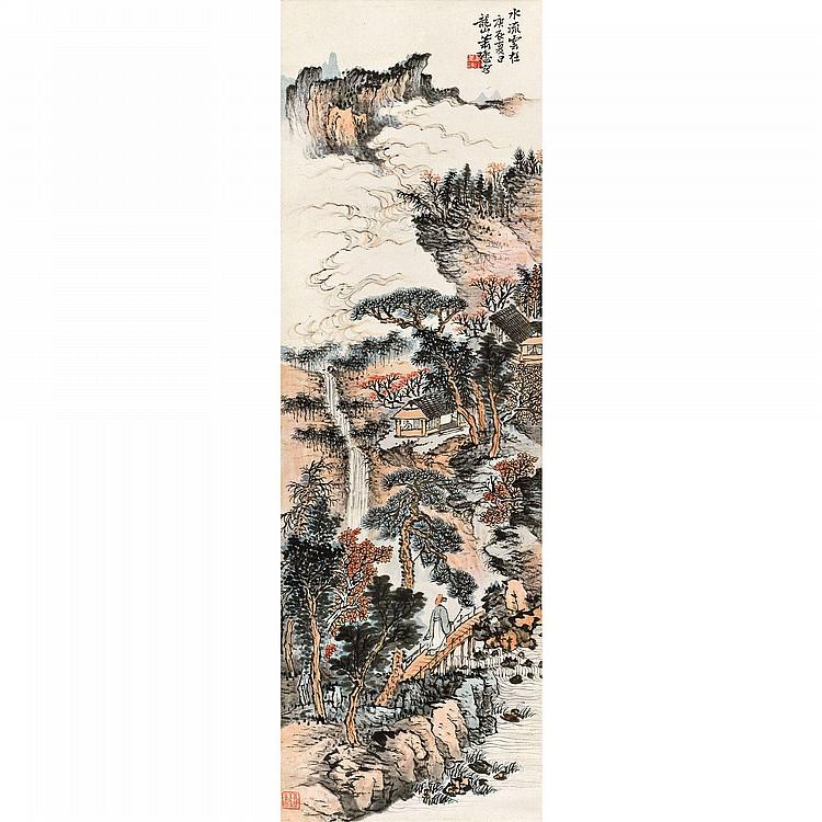 XIAO XUN 1883-1944 LANDSCAPE