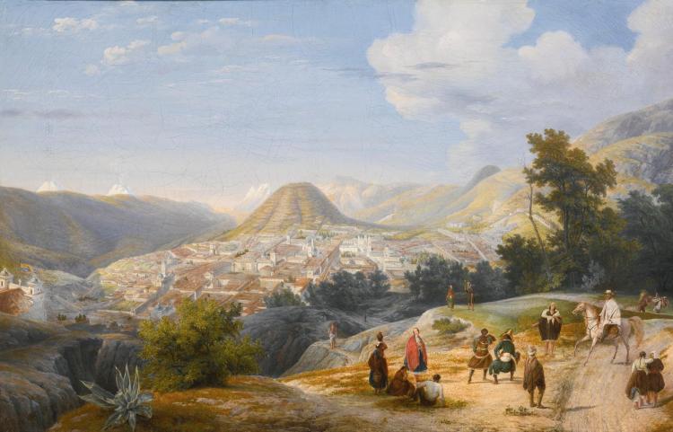 ERNEST CHARTON<BR>(1815-1877) | Quito, Ecuador
