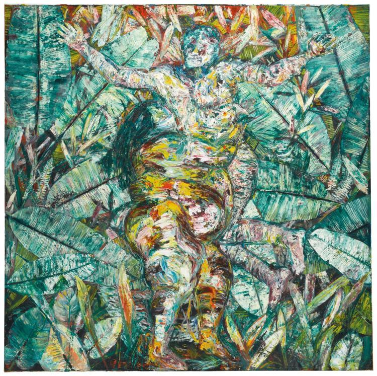 ARNALDO ROCHE-RABELL<BR>(B. 1955) | The Hug