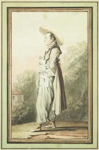 LOUIS CARROGIS DIT CARMONTELLE PARIS 1717 - 1806