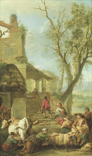 JEAN-BAPTISTE-MARIE PIERRE PARIS 1714 - 1789