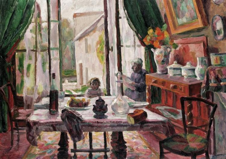 LUCIE COUSTURIER, 1870-1925 APRÈS-MIDI D'ÉTÉ