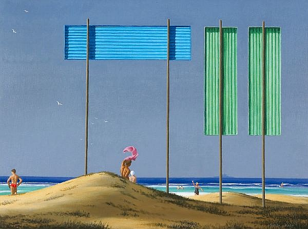 JEFFREY SMART , Australian B. 1921 