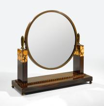 IN THE STYLE OF ÉMILE-JACQUES RUHLMANN | Table Mirror