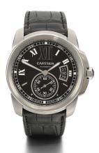 CARTIER | A STAINLESS STEEL AUTOMATIC WRISTWATCH WITH DATE <br />REF 3299 CASE 231065PX CALIBRE LIMITED EDITION MANAGER 2010 CIRCA 2010