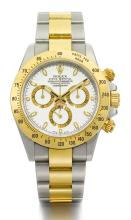 ROLEX | A STAINLESS STEEL AND YELLOW GOLD AUTOMATICCHRONOGRAPH WRISTWATCH WITH BRACELET <br />REF 116523 NO V453289 DAYTONA CIRCA 2008<br /><br />