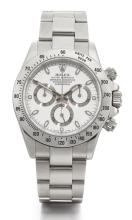 ROLEX | A STAINLESS STEEL AUTOMATIC CHRONOGRAPH WRISTWATCH WITH REGISTERS AND BRACELET <br />REF 116520 CASED623090 DAYTONA CIRCA 2005