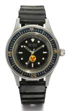 BLANCPAIN | A RARE STAINLESS STEEL AUTOMATIC WRISTWATCH WITH CENTRE SECONDS ANDRADIOACTIVITY INDICATOR <br />NO300249FIFTY FATHOMSCIRCA 1965