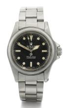 ROLEX | A STAINLESS STEEL AUTOMATIC CENTRE SECONDS MILITARY DIVER'S WRISTWATCH AND BRACELET <br />REF 5513 CASE 3927175 SUBMARINERCIRCA 1972