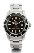 ROLEX | A STAINLESS STEEL AUTOMATIC CENTRE SECONDS WRISTWATCH WITH DATE, GAS ESCAPE VALVE AND BRACELET <br />REF 1665 CASE 4088739 SEA-DWELLERCIRCA 1975