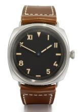PANERAI | A SPECIAL EDITION STAINLESS STEEL CUSHION-FORM 3 DAY WRISTWATCH<br />REF PAM00448 NO 343/750 CIRCA 2014