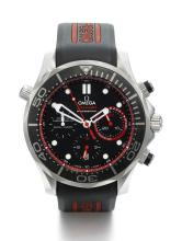 OMEGA | A STAINLESS STEEL AUTOMATIC CHRONOGRAPH WRISTWATCH WITH REGISTERS, DATE AND 15-MINUTE REGATTA INDICATION <br />NO 0537/2013 SEAMASTER PROFESSIONAL ENTZ CIRCA 2013