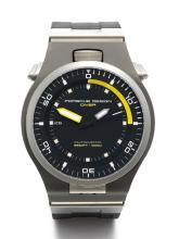 PORSCHE | A STAINLESS STEEL AND TITANIUM DIVER'S WRISTWATCH WITH DATE AND HINGED CASE<br />REF P6780 CASE 248362 CIRCA 2010