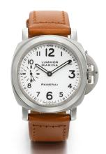 PANERAI | A STAINLESS STEEL CUSHION-FORM WRISTWATCH<br />REF PAM00003 OP6518 BB980599 BO302/3000 CIRCA 2000