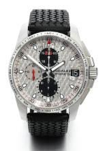 CHOPARD | A STAINLESS STEEL AUTOMATIC CHRONOGRAPH WRISTWATCH WITH REGISTERS AND DATE<br />CASE 1541577 NO 0223 MILLE MIGLIA GT XL CHRONO CIRCA 2010