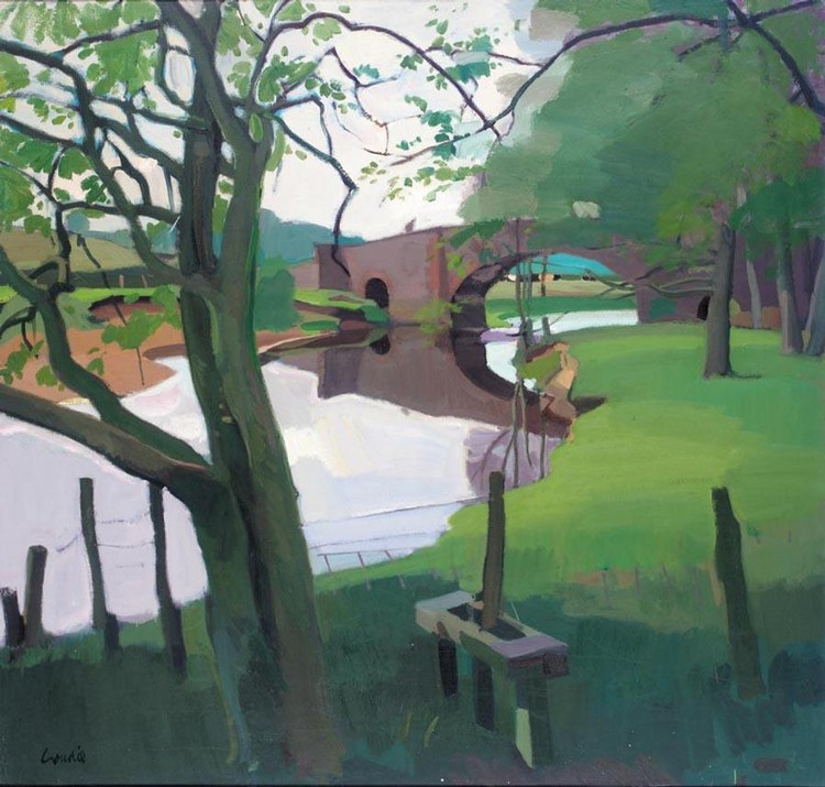 ALEXANDER GOUDIE 1933-2004 THE STILE, BLANE SMITHY, STIRLINGSHIRE