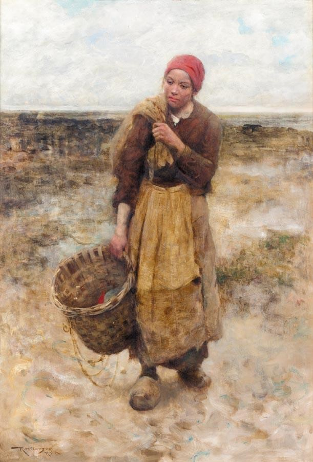 f - ROBERT MCGREGOR 1848-1922 THE END OF THE DAY
