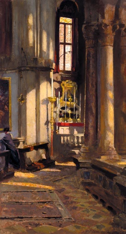 PATRICK WILLIAM ADAM 1854-1829 ST. ZACCARIA, VENICE