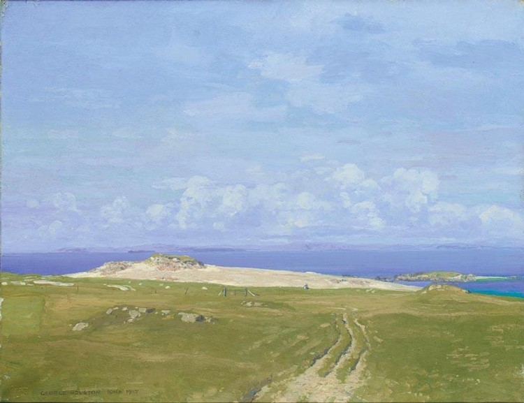 GEORGE HOUSTON 1869-1947 IONA