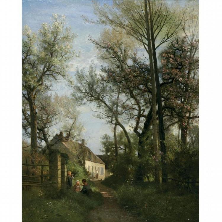 EUGÈNE ANTOINE SAMUEL LAVIEILLE 1820 - 1889