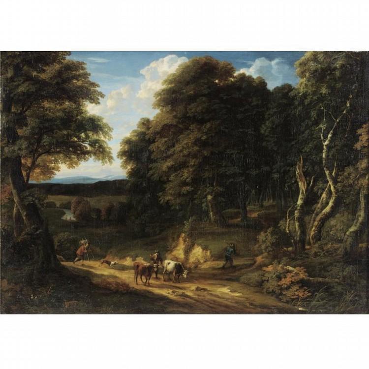 CORNELIS HUYSMANS ANTWERP 1648 - 1727 MECHELEN
