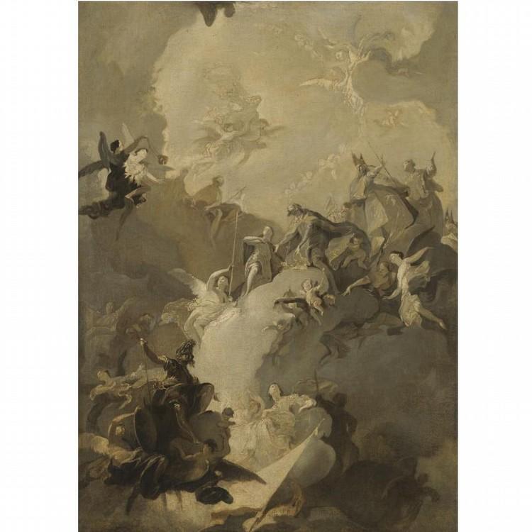 FRANZ ANTON MAULBERTSCH LANGENARGEN AM BODENSEE 1724 - 1796 VIENNA
