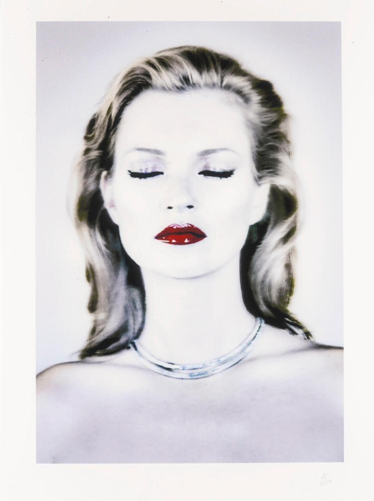 CHRIS LEVINE | Kate Moss (She's Light), 2014