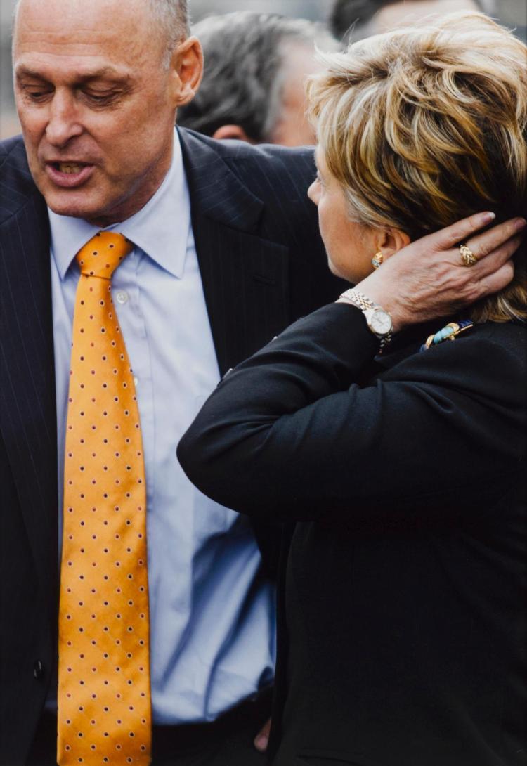 ROE ETHRIDGE | Groundbreaking (Hank and Hillary)