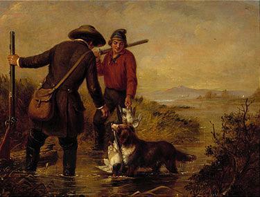 *William T. Ranney (1813-1857), *Arthur F. Tait (1819-1905) and *William Sidney Mount (1807-1868)