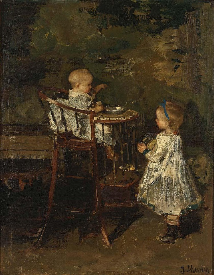 PAINTINGS FROM THE H.E. TEN CATE COLLECTION JACOB HENRICUS MARIS DUTCH, 1837-1899 THE TWO LITTLE