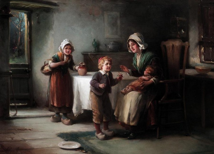 ALEXANDER ROSELL, 1859-1922 HUSH