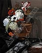 ARTHUR CHAPLIN, FRENCH 1869-1935 STILL LIFE OF AN URN OF FLOWERS, Arthur (1869) Chaplin, Click for value