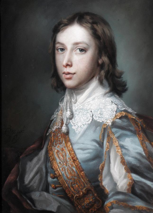 FRANCIS COTES R.A., 1726-1770 PORTRAIT OF A BOY