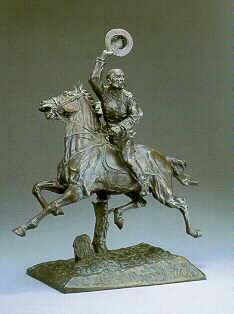 James Edward Kelly 1855 - 1933 SHERIDAN'S RIDE Signed M.J. Power, Bronze. Founder.N.Y., copyright