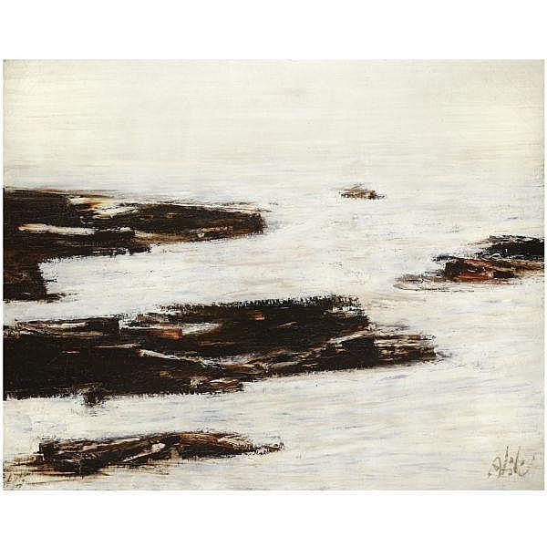 Abidin Dino , 1913-1993 Untitled oil on canvas