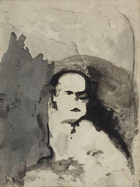Joy Hester , Australian 1920 - 1960 PEREGRINE SMITH Ink and watercolour on paper