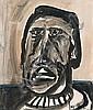 Joy Hester , Australian 1920 - 1960 HEAD Watercolour on paper   , Joy Hester, Click for value