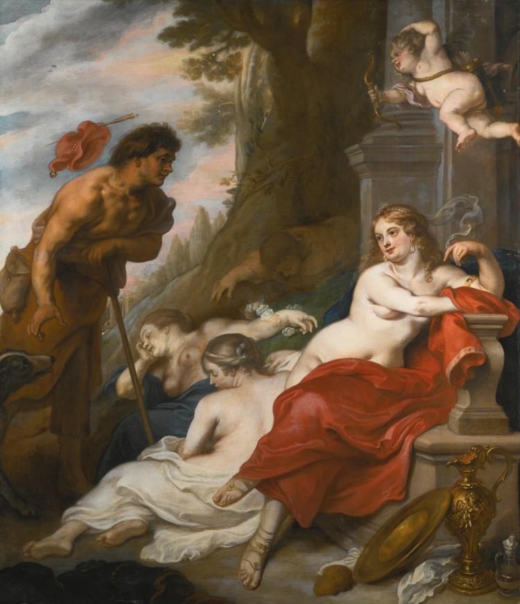 THEODOOR VAN THULDEN | Venus and Adonis